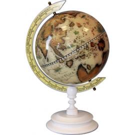 Globus drewno średnica 22cm