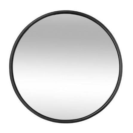 Lustro 60 Cm Rama Czarna Metalowa Gruba Dekoracje Premium Phu Dan