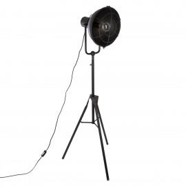 LAMPA TRÓJNÓG STATYW CZARNA LOFT h-150 cm