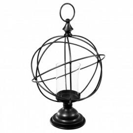 Świecznik tealight w kształcie kuli ziemskiej h-40