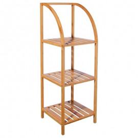 Półka regał bambusowy 3 poziomy