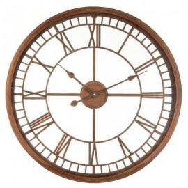 Zegar 67 cm rustykalny ażurowy metal D70 LOFT