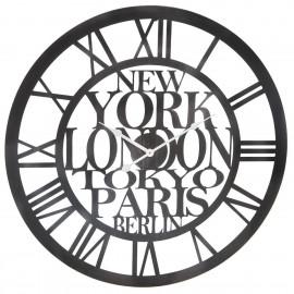 "Zegar Vintage metalowy zegar ""City"" D60 HIT !!"