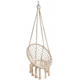 Krzesło hamakowe 55x115cm beżowe