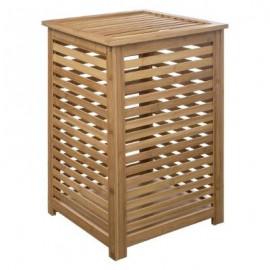 Bambusowy kosz na pranie, 40x40x60, ekologiczny