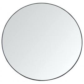 Lustro okrągłe śr.70 cm czarne ścienne nowoczesne LOFT