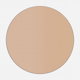 Lustro 70 cm okrągłe ścienne bezramowe
