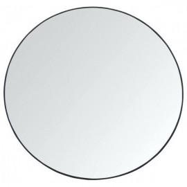 Lustro okrągłe śr.60 cm czarne ścienne nowoczesne LOFT