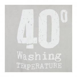 Kosz na pranie, worek 35x53, kolor szary