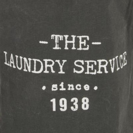 Kosz na pranie, worek 35x53, ciemno szary