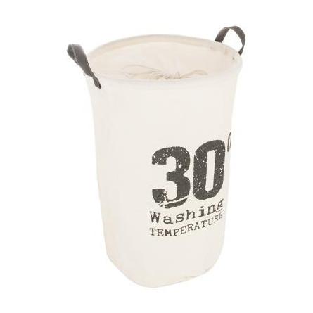 Kosz na pranie, worek 35x53, biały