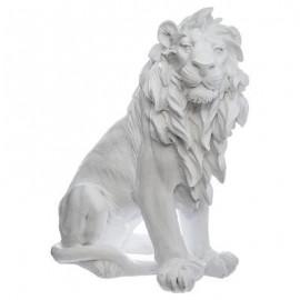 FIGURKA LEW h-31 cm biały