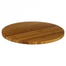 Deska obrotowa bambusowa patera do serwowania , Ø 35 cm