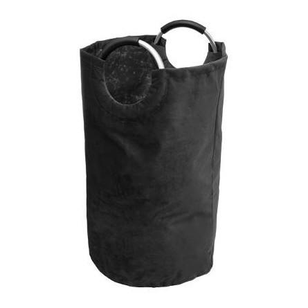 Kosz na pranie z rączką aluminium, worek czary