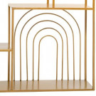 Półka ścienna ze złota 58 x13x 58