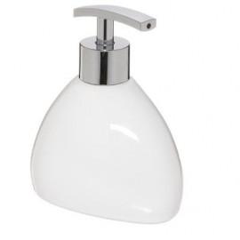 Dozownik do mydła w płynie, kolor biały CERAMICZNY