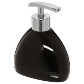 Dozownik do mydła w płynie, kolor czarny CERAMICZNY