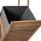 Bambusowa półka kosz na pranie ekologiczny TOP