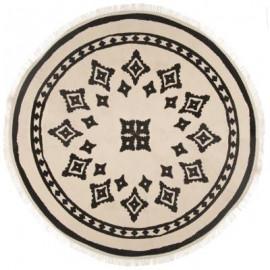 Dywan okrągły NOMADE, Ø 90 cm BOHO etno HIT