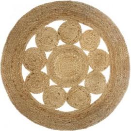 Dywan okrągły NOMADE, Ø 120 cm BOHO etno HIT