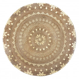 Dywan okrągły z juty , Ø 115 cm BOHO HIT