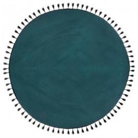 Dywan okrągły BAWEŁNA , Ø 120 cm kolor MORSKI HIT