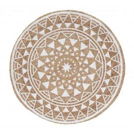 Dywan okrągły z juty , Ø 90 cm SILHA BOHO HIT