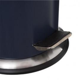Kosz łazienkowy pojemnik na śmieci metal granat 3L
