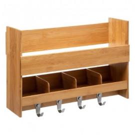 Półka regał bambusowy organizer kuchenny