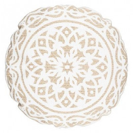 Poduszka dekoracyjna okrągła NOMADA , boho 50 cm