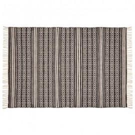 Dywan 120X170 bawełniany DELHI z frędzlami BOHO HIT