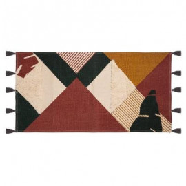 Dywan 70 X 140 bawełniany MUSA z frędzlami BOHO HIT