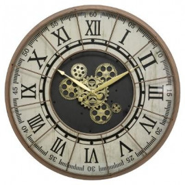 Zegar metal 57 cm  mechaniczny  BOHO d60