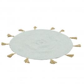 Dywan okrągły Niebieski , Ø 90 cm BOHO HIT