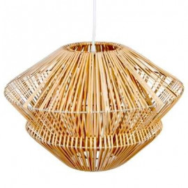Lampa sufitowa wisząca nowoczesna ratan BOHO