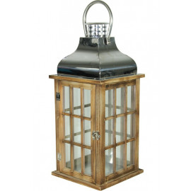 LAMPION , LATARNIA DERENO METAL NOWOCZESNY h52